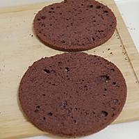 夏季美味--巧克力芭菲冰淇淋蛋糕的做法图解13