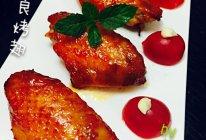 蜜汁叉烧酱烤鸡翅的做法