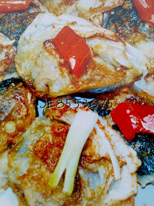 香煎蟹味多宝鱼的做法图解4