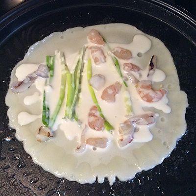 利仁电饼档试用之韩式海鲜煎饼的做法 步骤11