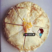榴莲芒果千层蛋糕的做法图解4