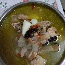 榴莲皮炖鸡