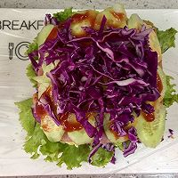 多彩野餐三明治#百吉福食尚达人#的做法图解13