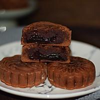 巧克力流心月饼的做法图解16