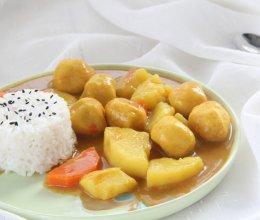 风靡各地的街头小吃——咖喱鱼蛋的做法