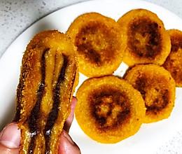 简易版豆沙南瓜饼(不用油炸)