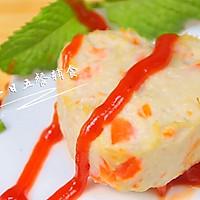 胡萝卜莲藕鸡块 宝宝辅食,胡萝卜+鸡胸肉+莲藕的做法图解10