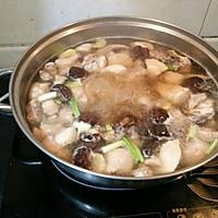 香菇炖鸡汤的做法图解3