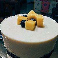 牛奶芒果慕斯蛋糕6寸的做法图解8
