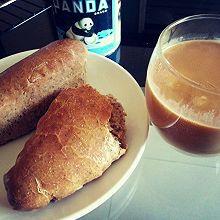 奶茶芝士面包