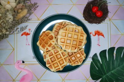 无油版全麦华夫饼(减脂菜单)