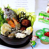 海鲜杂蔬火锅