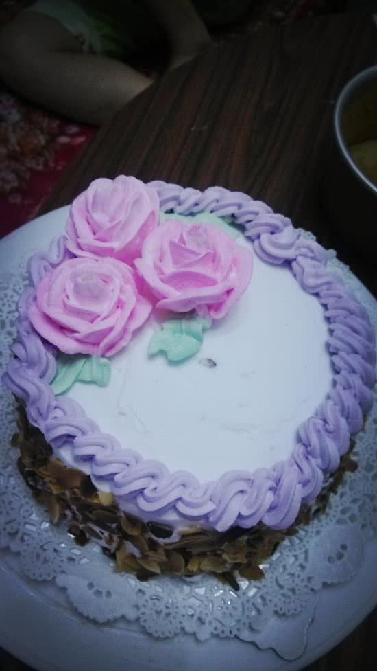玫瑰花裱花蛋糕——长帝烘焙节图片