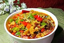酸菜肉末煲粉条的做法