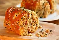 松软美味的肉松面包卷的做法
