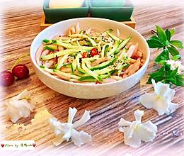 #我们约饭吧#粉色暴击甜蜜来袭-凉拌苋菜面鱼的做法