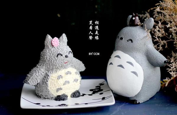 龙猫立体蛋糕+