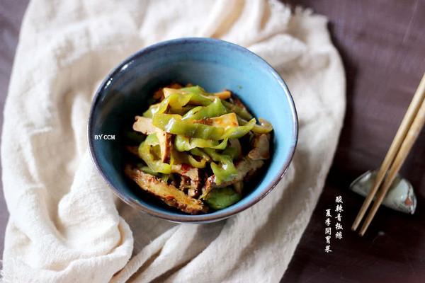 酸辣青椒丝#每道菜都是一台食光机#的做法