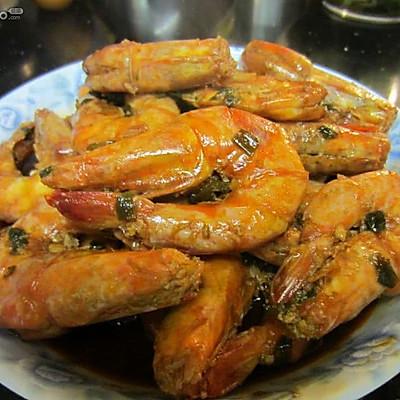 吮着手指吃的——油焖大虾