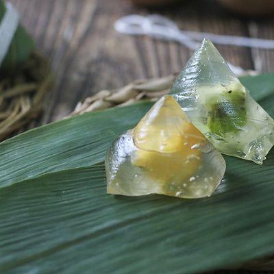 水果冰晶粽丨在家DIY星巴克同款星冰粽