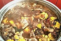 五花肉玉米顿排骨火锅(小布版)的做法
