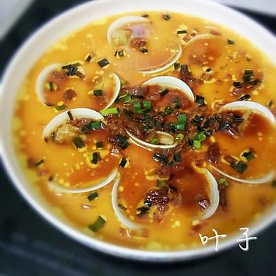 文蛤蒸水蛋