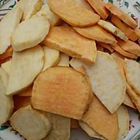 甜蜜蕃薯片的做法图解1