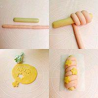 宝宝辅食【鳕鱼芝士肠馒头】的做法图解3