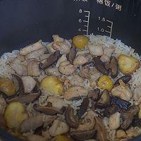 #味达美名厨福气汁,新春添口福#板栗焖鸡饭的做法图解9