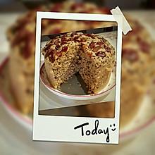 红糖红枣芝麻发糕