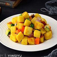 蔬菜馒头丁#柏翠辅食节-营养佐餐#
