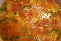 西红柿金针菇蛋汤的做法