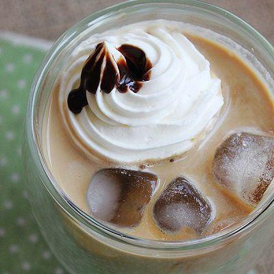 夏日午后尽享悠闲【冰摩卡咖啡】