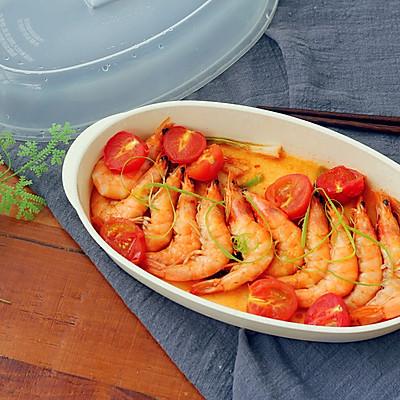 茄香酸甜虾