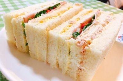 三色三明治