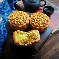 金沙奶黄肉松月饼#晒出你的团圆大餐#的做法图解25