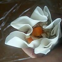 李孃孃爱厨房之一一糯米烧麦(饺子皮版)的做法图解13