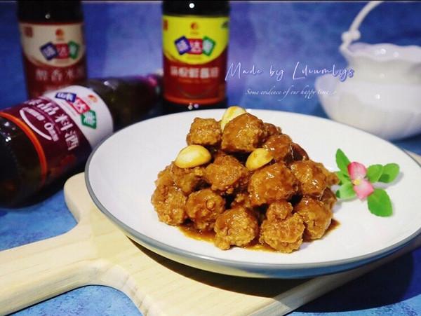 中秋宴,星厨汁糖醋丸子,酸甜香浓,秒见盘底的做法