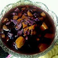 薯于你的甜   紫薯红薯红枣汤的做法图解1