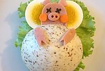 有趣又健康的早餐—分享小睡猪中式汉堡做法的做法