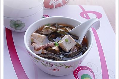 大酱海带豆腐汤