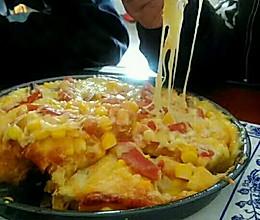 花蛤玉米蘑菇披萨的做法