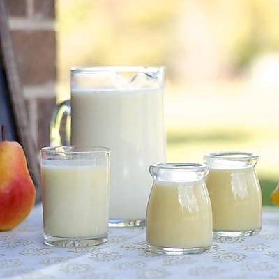 奶香玉米梨汁