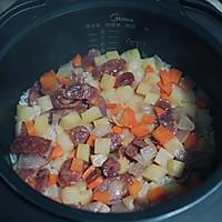 土豆腊肠焖饭的做法图解10