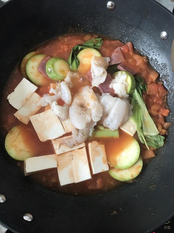 番茄鱼的做法