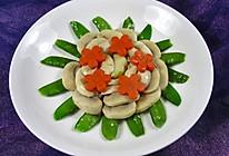 蘑菇荷兰豆的做法