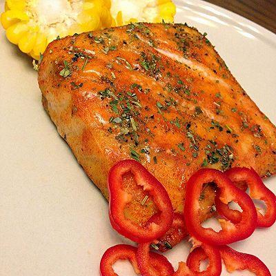奥尔良风情烤鲟鱼片