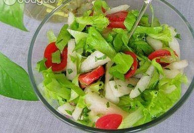 薄荷蔬果沙拉