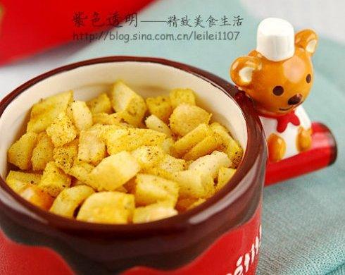 咖喱椒盐薯粒