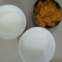 小甜品~南瓜奶油甜汤。的做法图解2